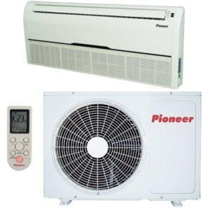 Кондиционеры Pioneer сплит-системы кассетного типа (On/Off), охлаждение-нагрев
